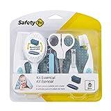 Safety 1st Estuche Esencial DE Aseo - Estuches de Aseo y cuidados del bebé, Color Turquesa / Blanco