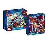 Collectix Lego Set – Marvel El duelo de Spiderman y Sandman 76172 + Marvel Miles Morales Mech 76171