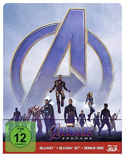Marvel's The Avengers - Endgame - Limited Steelbook Edition (+ Blu-ray) (+ Bonus Blu-ray)