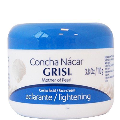 Grisi Cream Concha Nacar, 3.8 oz (Pack of 2)