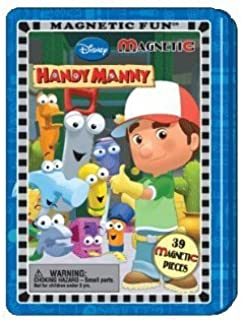 Lee Publications 1 X Disney Handy Manny Magnetic Fun Tin