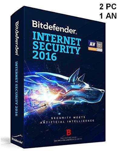 bitdefender pack securite internet 2PC 1AN 2016