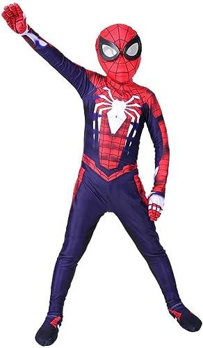 Con 100% de calidad y servicio de% 100. PIAOL PS4 PS4 PS4 Traje De Spiderman Niño Cosplay Leotardo Spandex Disfraz De Halloween Disfraz De Bola,Kid-XL  a la venta