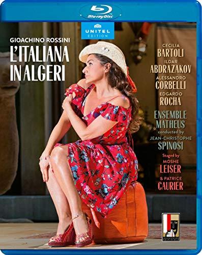 Rossini: Litaliana In Algeri [Cecilia Bartoli; Ildar Abdrazakov; Edgardo Rocha] [Unitel Edition: 801904] [Blu-ray]