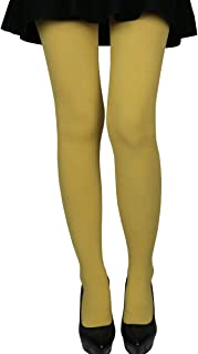 Women's Stretchy 70D Microfiber Opaque Solid Color Footed Pantyhose Tights