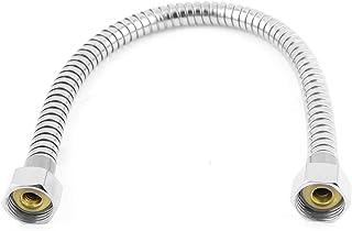 sourcingmap Baño Flexible 40cm Abastecimiento De Agua Línea Cabezal De Ducha Calefactor Manguera De Entrada