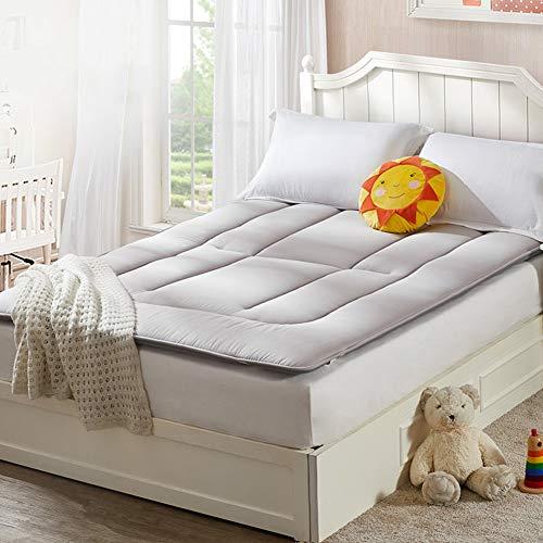 fgdjtyyj Alfombrilla de futón de algodón, plegable Tatami para dormir, transpirable, antideslizante, para futón, 90 x 200 cm