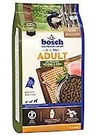 ボッシュ アダルト チキン&キビ 1歳以上 通常活動レベルの成犬用総合栄養食 全犬種用 ハイプレミアム ドッグフード 1kg