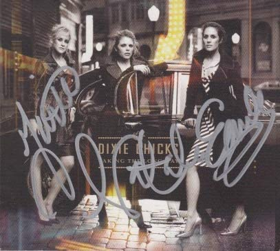The New popularity Quantity limited Dixie Chicks signed CD