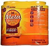 Metamucil With 100% Natural Psylluim Fiber, Orange, 48.2-Ounce Bottle (Pack of 2)