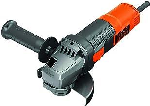 Black + Decker BEG220 haakse slijper, 900 watt, 125 mm schijf-Ø, zachte start en nulspanningsschakelaar, voor alle standaa...