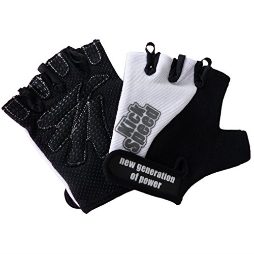 Best Body Nutrition Handschuhe Fitness Handschuhe - Training & Cycle, Mehrfarbig (blue/black), Gr.XL