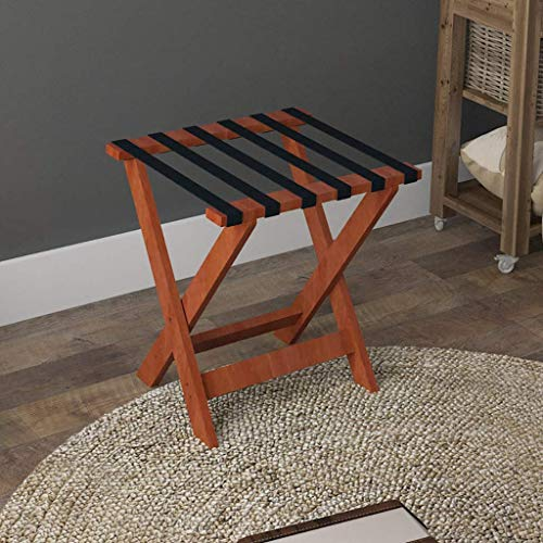 Best Price BBG Home, Hotel Racks for Folding Clothes,Solid Wood Luggage Rack Portable Hotel Special ...