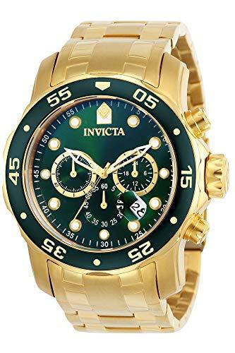 Invicta 0075 Pro Diver - Scuba Reloj para Hombre acero inoxidable Cuar