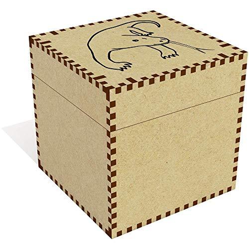 Azeeda Groß 'Komodo Drache' Schmuckkästchen (JB00057198)