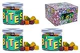 Supergarden BITES Caja de snacks - Snack saludable hecho de frutas, vegetales y bayas liofilizadas - Producto 100% Puro y Natural - Apto para veganos - Sin gluten - No OMG (Vegetales)