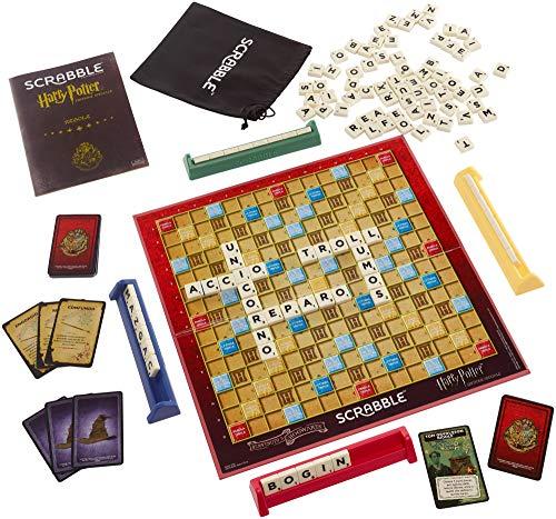 Scrabble Edizione Speciale Harry Potter, Gioco da Tavola delle Parole Crociate Giocattolo per Bambini 10+ Anni, GMY41