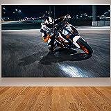 yhyxll Rennräder Poster und Drucke Motocross Motorcyle KTM