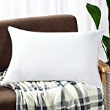 HooSeen Hotel Collection Deep Sleep Bed Pillow 100% Breathable Egyptian Cotton Cover,Washable,Hypoallergenic,Suit