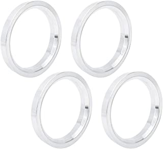 Set of 4 64.15mm CECO Alloy Hub Centric Rings Small Chamfer 73.00mm