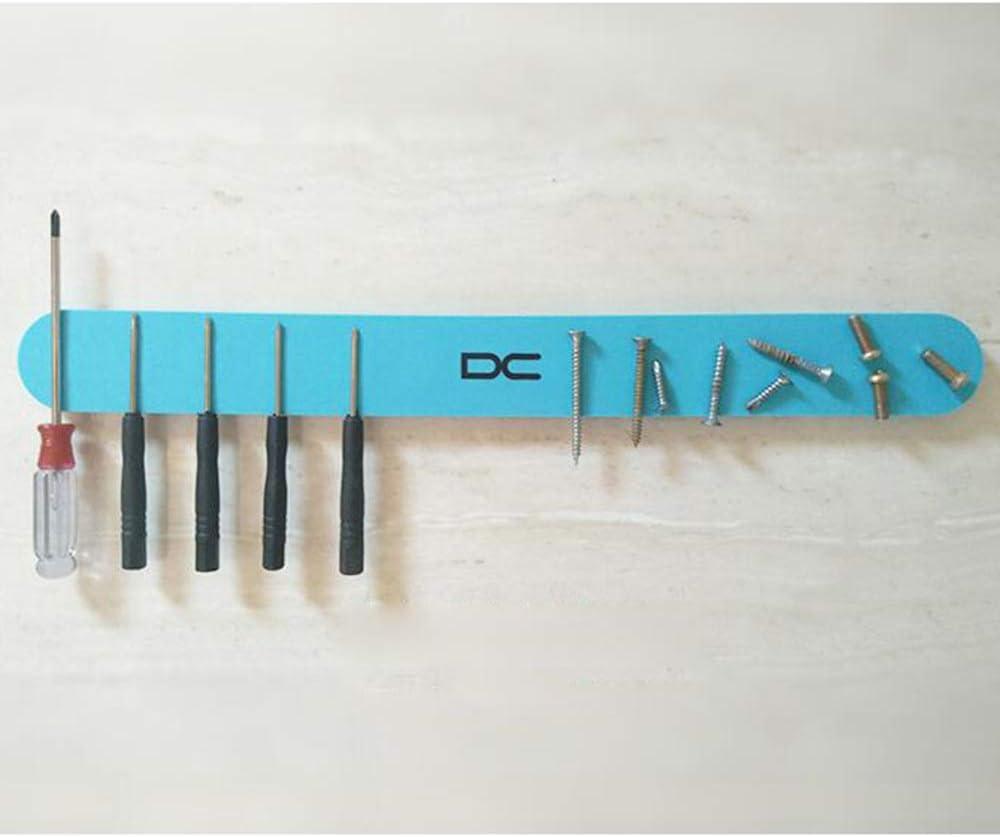 LDFN-Knife rack Messerhalter Silicagel Schlagen Sie Frei An Der Wand Montiert Magnet Multifunktion Weicher Messerhalter Küche Regal Grün,33 * 3.5 * 0.9 33*3.5*0.9