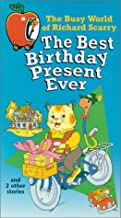 The Busy World of Richard Scarry - The Best Birthday Present Ever VHS