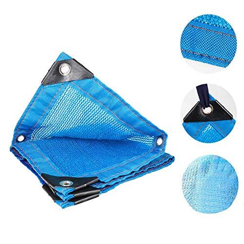 HR Shade Net Sunblock - Tela resistente a los rayos UV, 85% bloque UV, para exteriores, jardín, patio, fiesta, color azul, tamaño: 2 x 3 m.