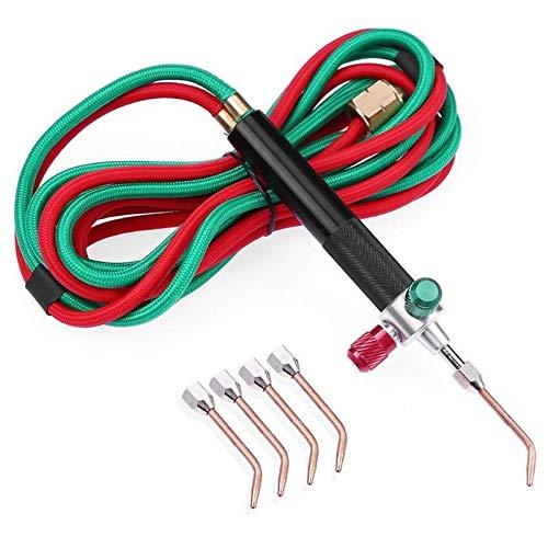 AAJTCT Professioneel mini-gas lasapparaat met soldeerbout van acetyleen, soldeerpistool van platina, metaal