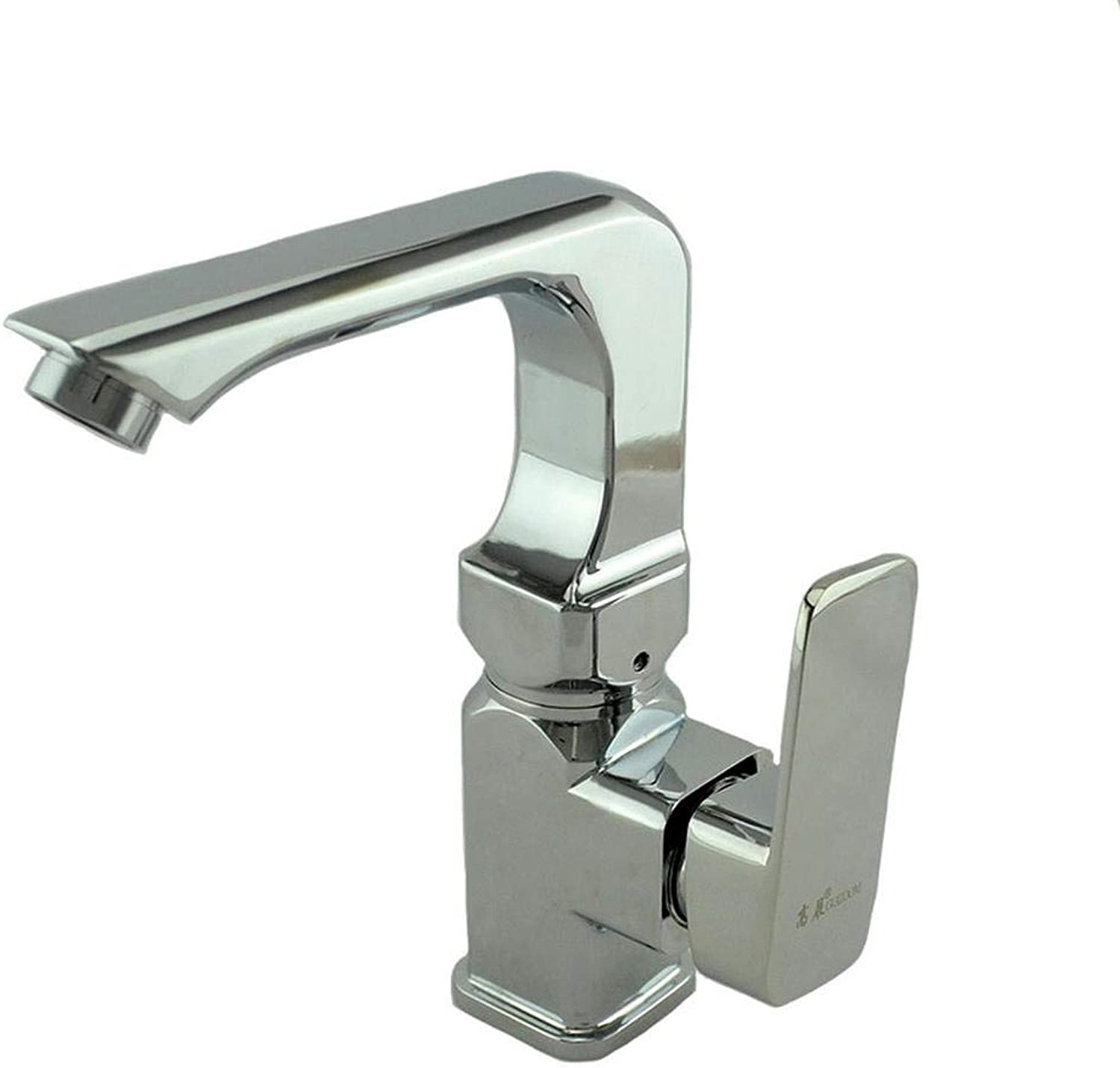 Quartet Single redating Basin Single Hole High Pressure Faucet Hot and Cold Water Faucet Basin