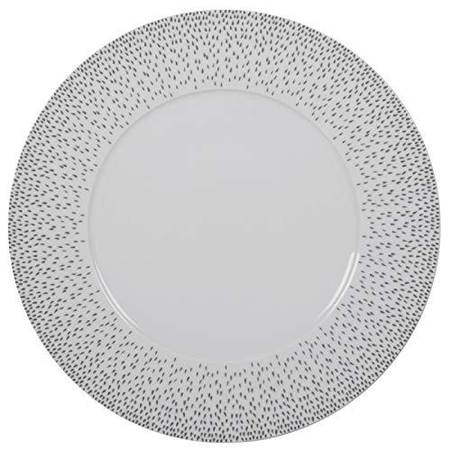Table Passion - Assiette de présentation 31 cm éole gris