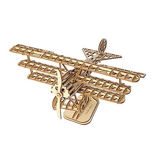 ROKR Holzbausatz Flugzeug