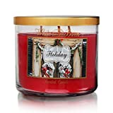 Bath & Body Works Holiday 3-Wick Scented Candle