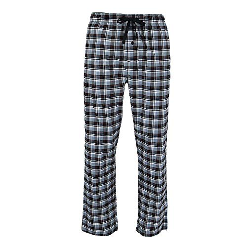 Hanes Men's Sleep Stretch Woven Pajama Pant, Black, XX-Large