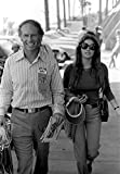 Raquel Welch and James Aubrey at 500 Race Photo Print (24 x 30)