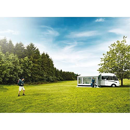 Thule Sun Blocker G2 Vorderwand 430 x 170cm Camping Markise Front Sichtschutz Windschutz Wohnwagen