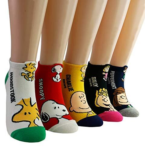 DASOM Frauen Awesome Snoopy Söckchen
