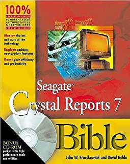Seagate Crystal Reports X Bible With Cdrom (Bible (Wiley))