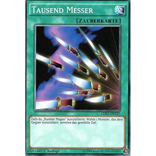 LDK2-DEY27 - Tausend Messer - Yu-Gi-Oh! - Legendary Decks 2 - Deutsch - mit GECO® Versandschutz