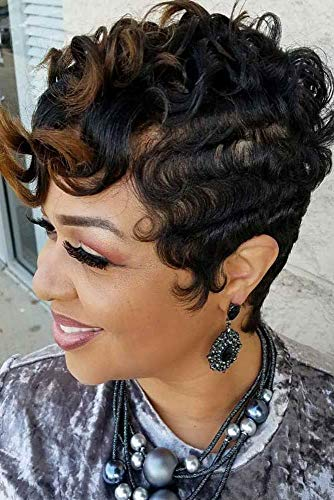 African american short human hair wigs _image3