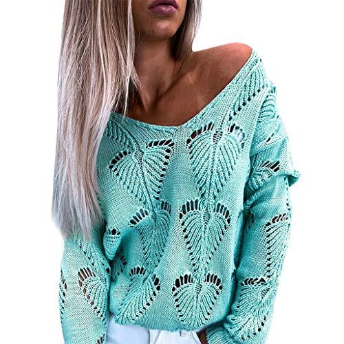 Pwtchenty Damen Oberteile Streetwear Jacken Mäntel SweatshirtsFashion Knitting...