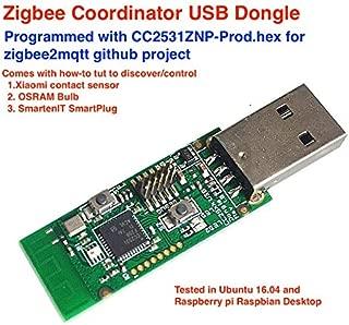 CC2531 Zigbee Coordinator for Raspberry Pi(RaspBee Alternative)