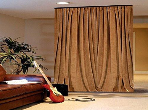 Parfait pour hauts plafonds Blanc Rideau de douche extra long. * SK Rideau de douche en textile 180/x 230/Blanc Largeur 180/Hauteur 230/incl Anneaux Extra long