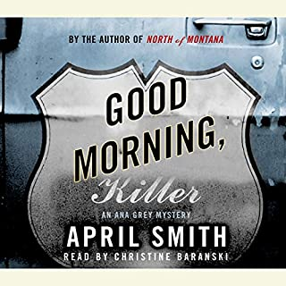 Good Morning, Killer audiobook cover art
