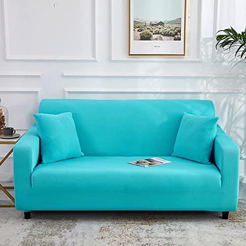 Funda de sofá de Alta Elasticidad para Sala de Estar Funda Universal de poliéster Funda de sofá elástica Funda de sofá de Esquina A12 1 Plaza
