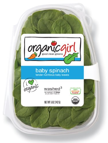 organicgirl Baby Spinach, 5 oz Clamshell