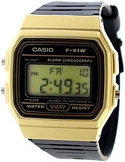 カシオ CASIO クオーツ ユニセックス 腕時計 F-91WM-9A ブラック [並行輸入品]