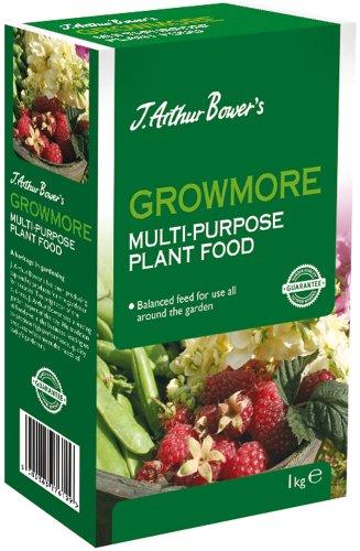 J. Arthur Bowers Growmore Garden Fertiliser, 1 kg