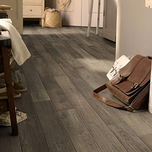 PVC Bodenbelag Tarkett Exclusive 260 Rustic Oak Dark Grey (13,90 € p. m²) (Breite: 200 cm x Länge: 600 cm)