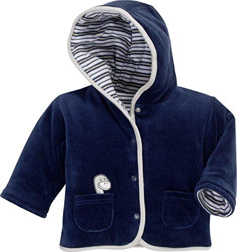 Schnizler Wendejacke Dino Blouson, Bleu (Navy 11), Naissance (Taille Fabricant:50) Mixte bébé