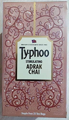 Typhoo Stimulating Ginger Tea Bags (25 Tea Bags)